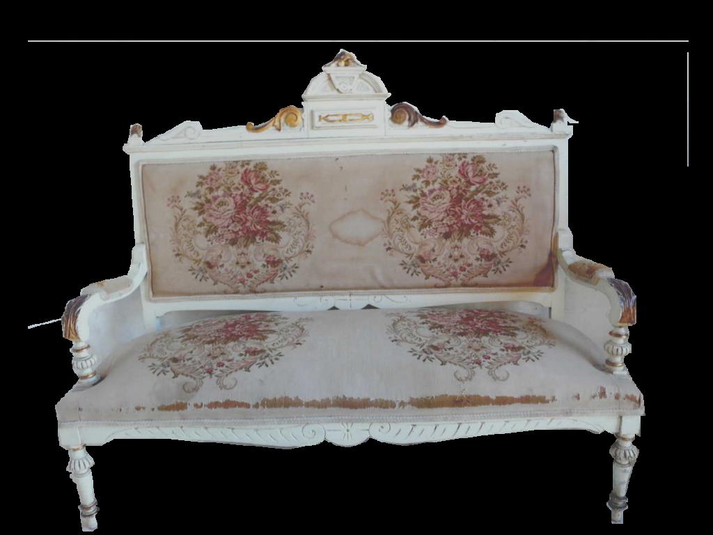 antiquit s meubles objets livres anciens achat ventebanquette xix me tapisserie antiquit s. Black Bedroom Furniture Sets. Home Design Ideas