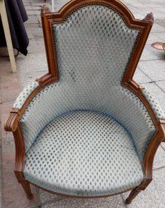 fauteuil ancien bergere style louis xvi - Fauteuil Ancien Bergere
